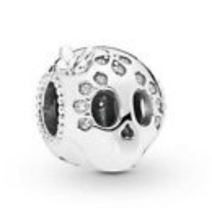 Jewelry - Day of the Dead Sugar Skull Silver Charm
